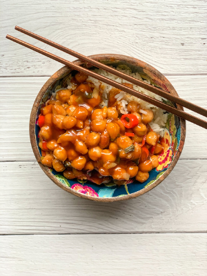 PF Chang's Copycat Kung Pao Chickpeas
